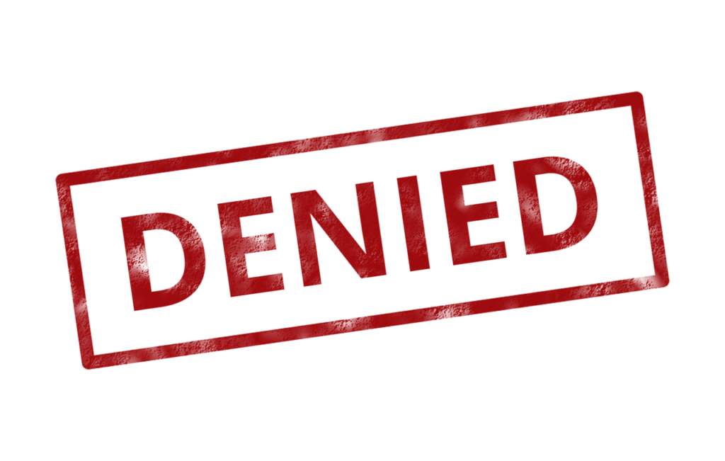 Why and When Your Loan Application Can Be Denied